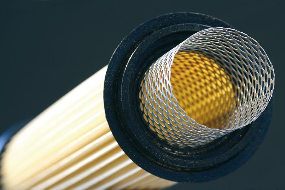 dust filters shot blast